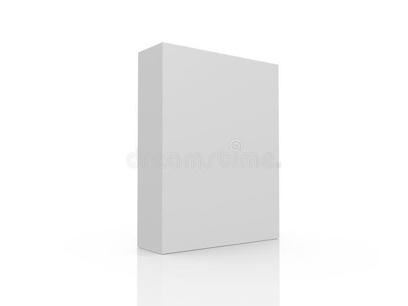 Pusty produktu pudełko royalty ilustracja