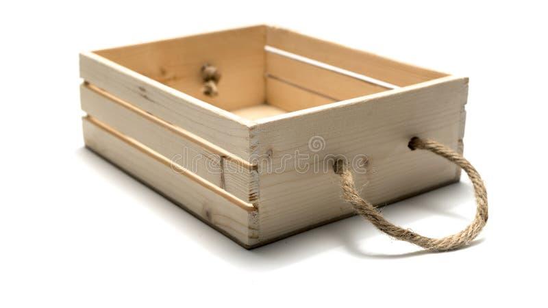 pusty pudełka drewno obrazy royalty free