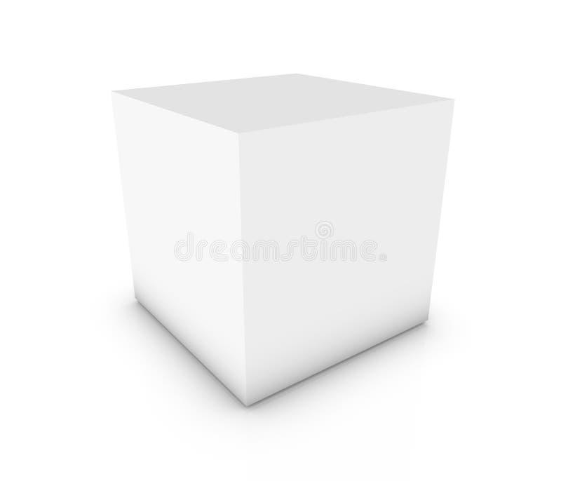 pusty pudełko ilustracja wektor