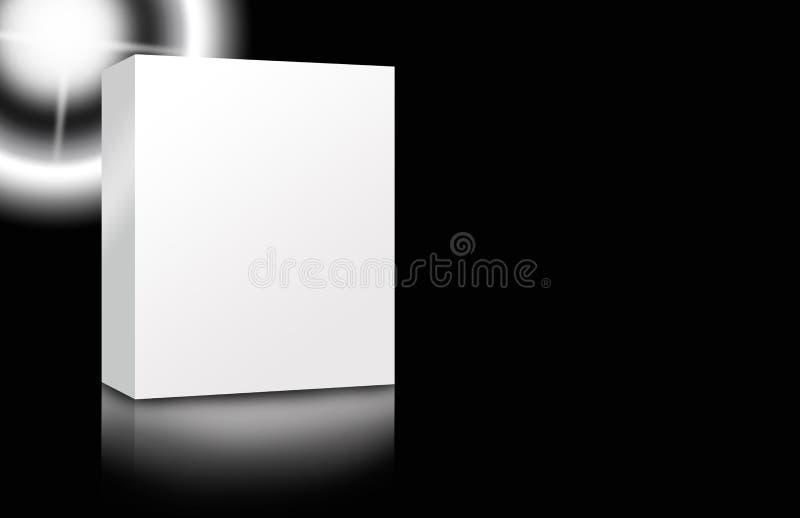 pusty pudełkowaty elegancki ilustracja wektor