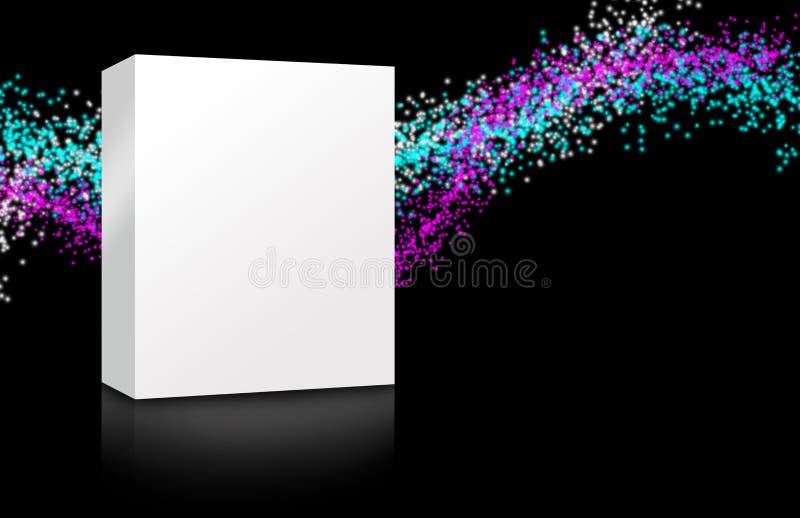 pusty pudełkowaty kolorowy ilustracja wektor
