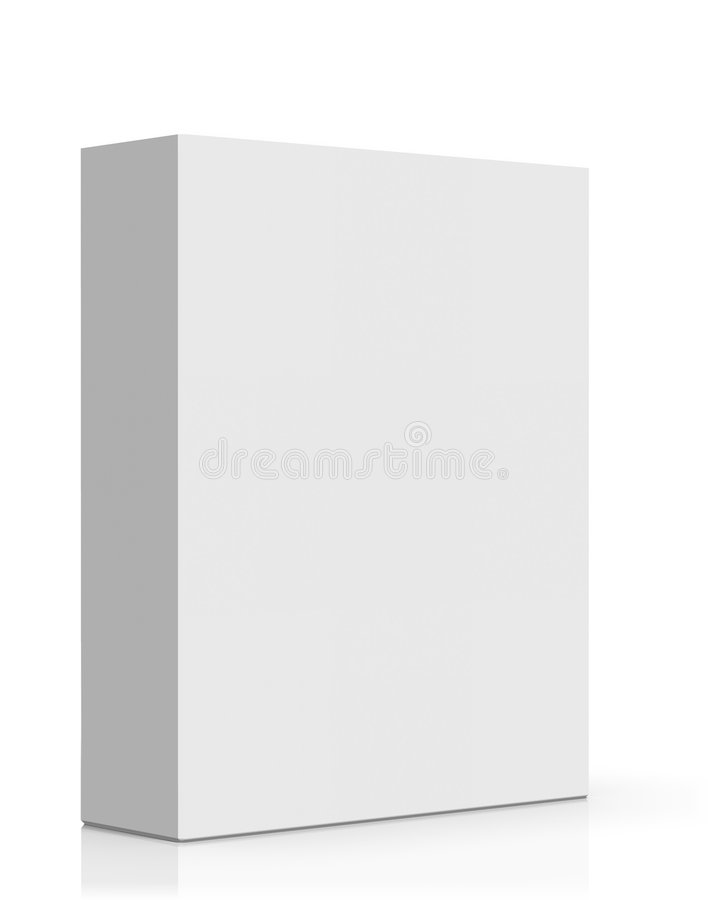 pusty pudełkowaty oprogramowanie ilustracji