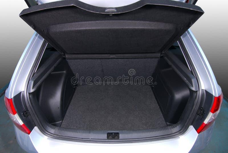 Pusty samochodowy bagażnik fotografia stock
