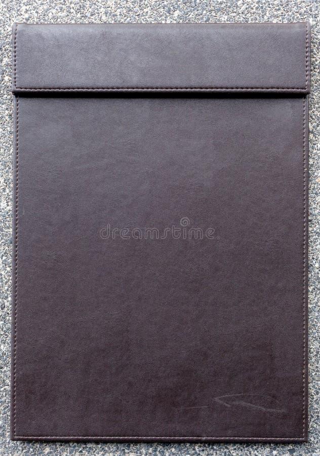 Pusty schowek dla notepad zdjęcia stock