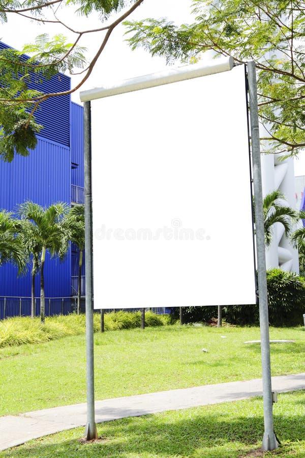 pusty signboard obraz stock