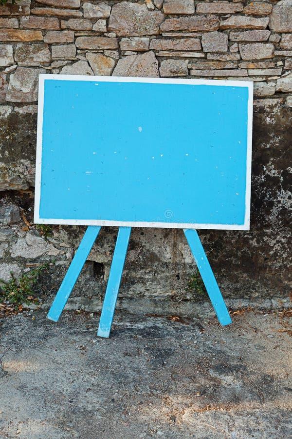pusty signboard obrazy stock