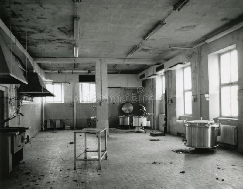 pusty stary kuchenny zdjęcie stock