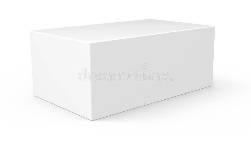 Pusty szablonu pudełka model obrazy stock