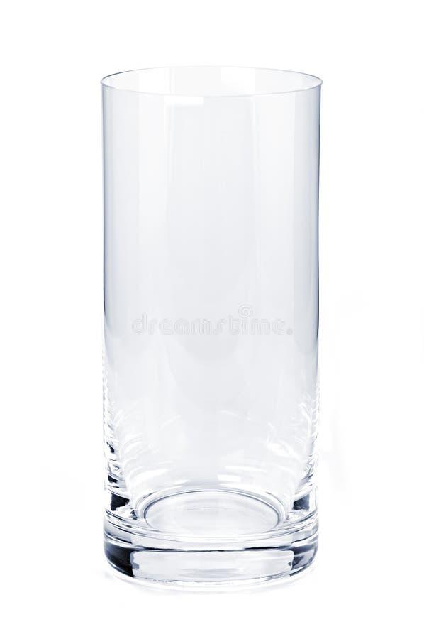 pusty szklany tumbler fotografia stock