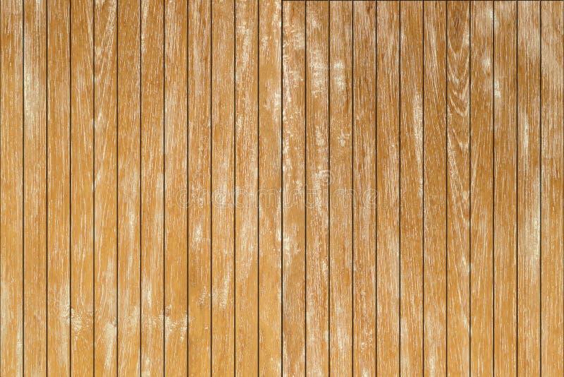 Pusty Tekowy drewniany tło Drewniany stołowej deski tło Natura fotografia royalty free