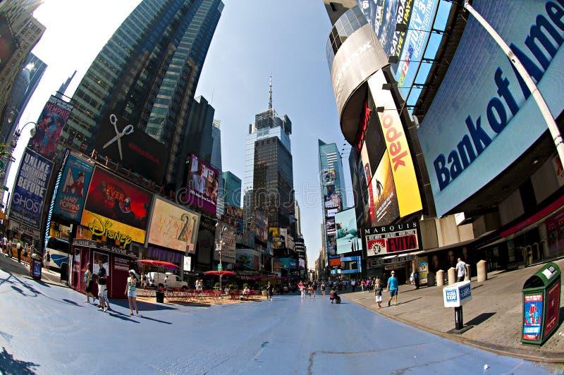 Pusty Times Square zdjęcia stock