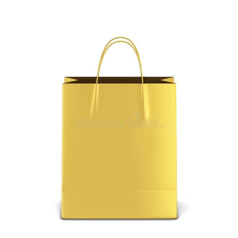 Pusty torba na zakupy mockup zdjęcia royalty free