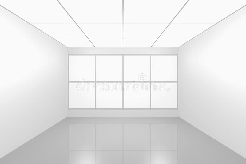 pusty wewnętrzny nowy pokój royalty ilustracja