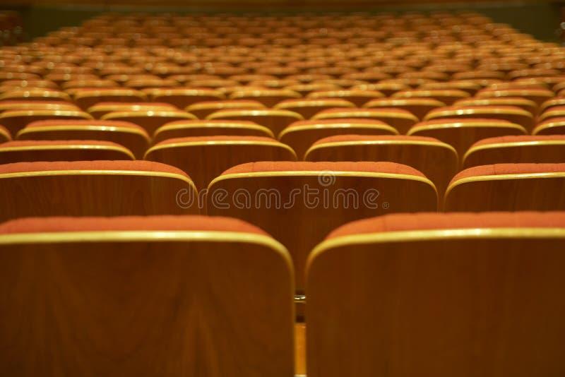 pusty wewnętrzny theatre fotografia royalty free