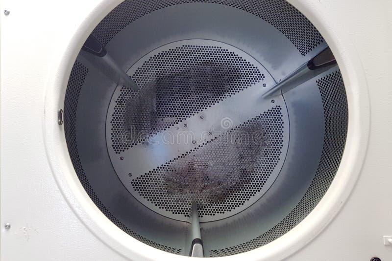 Pusty zbiornik automatyczna pralniana suszarka zdjęcia stock