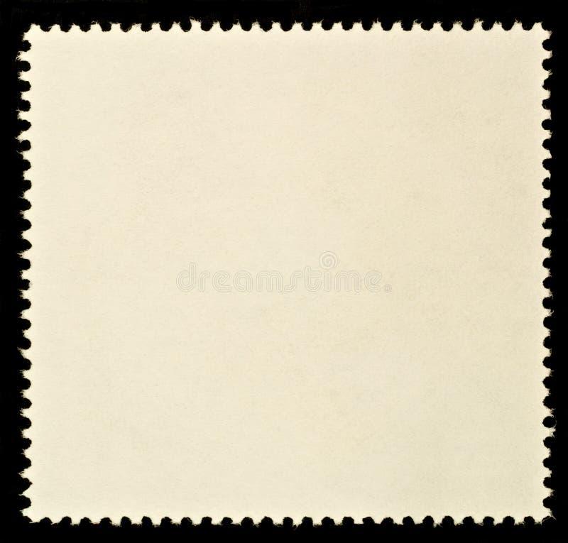 pusty znaczek pocztowy zdjęcia stock