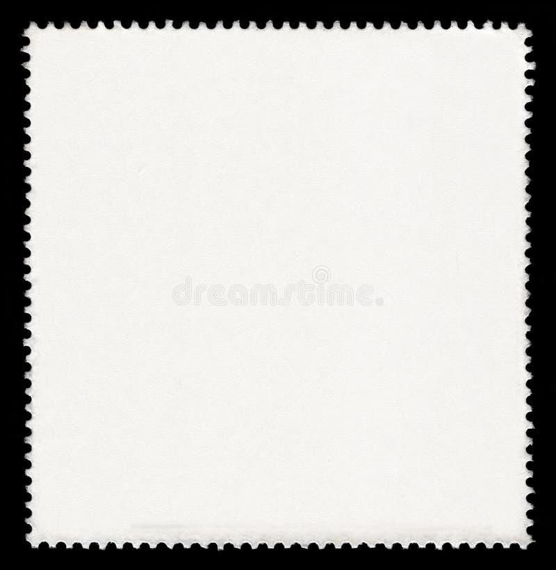 Pusty znaczek pocztowy obrazy royalty free