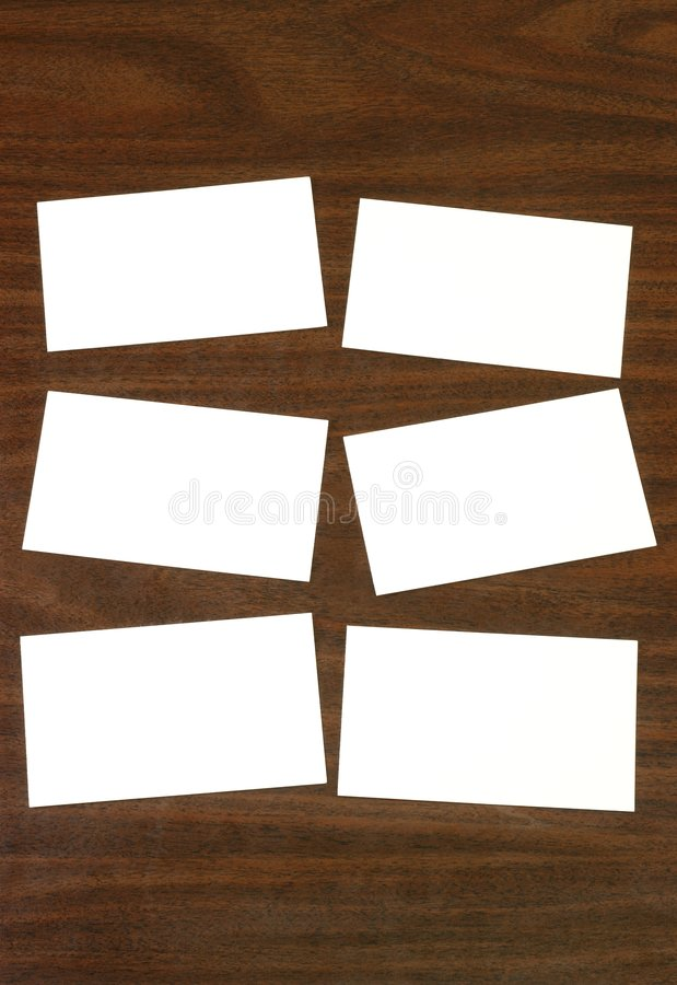 pustych kart desktop wskaźnik drewna fotografia royalty free