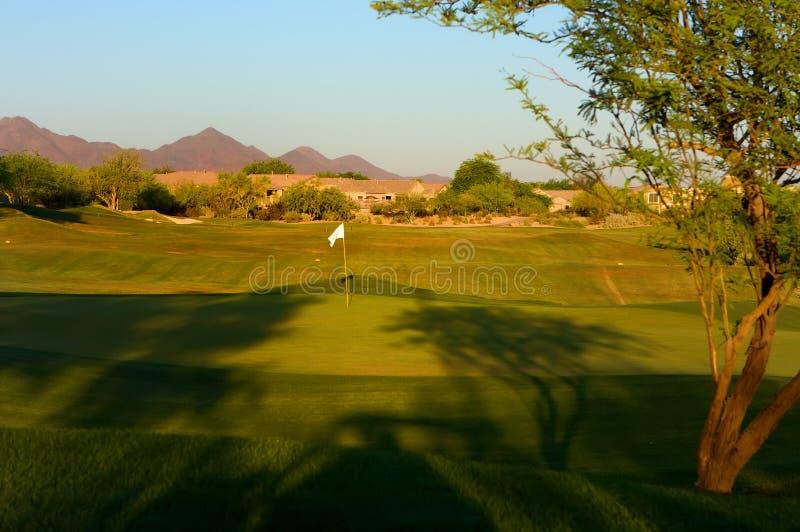 pustyni arizona kursu golfa fotografia royalty free