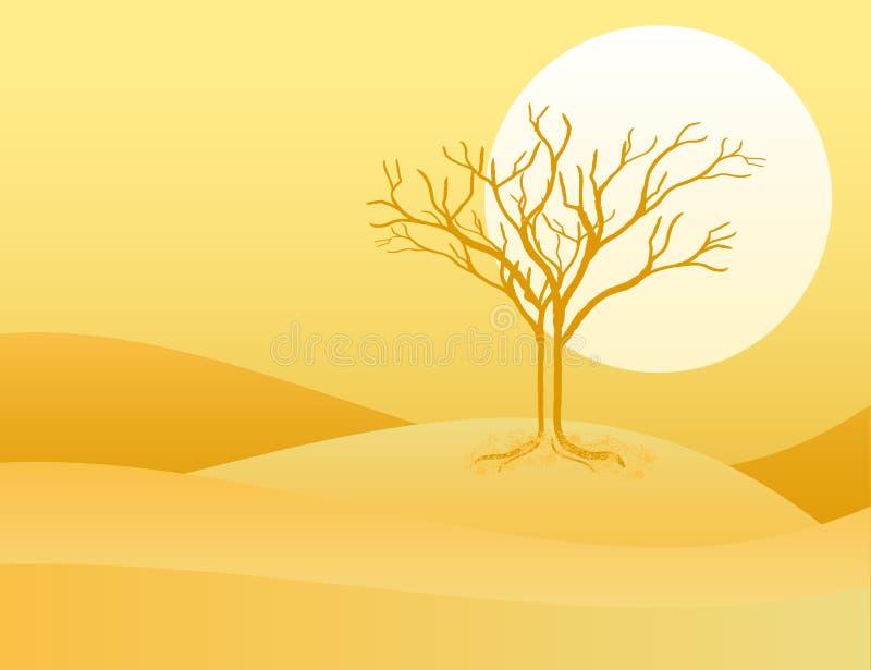 pustynia ilustracja wektor