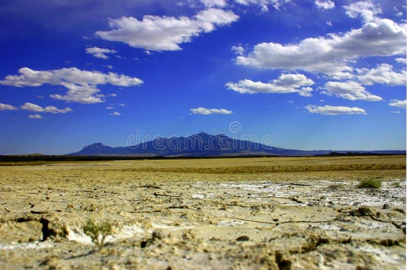 pustynia chmurna obrazy stock