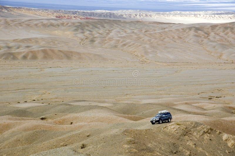 pustynia Gobi 4wd obrazy royalty free