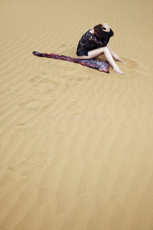 pustynia gubjąca fotografia stock