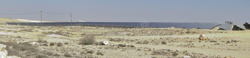 pustynia kasetonuje słonecznego zdjęcia royalty free