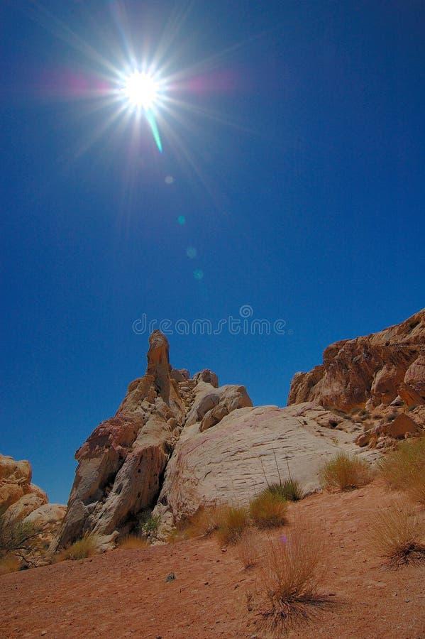 pustynia nad słońcem zdjęcia stock