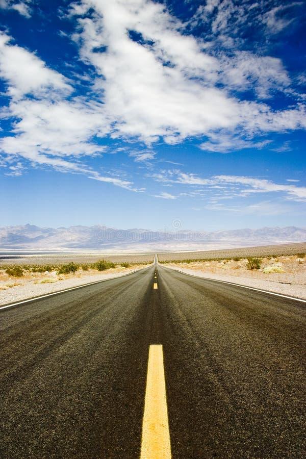pustynna autostrada fotografia royalty free