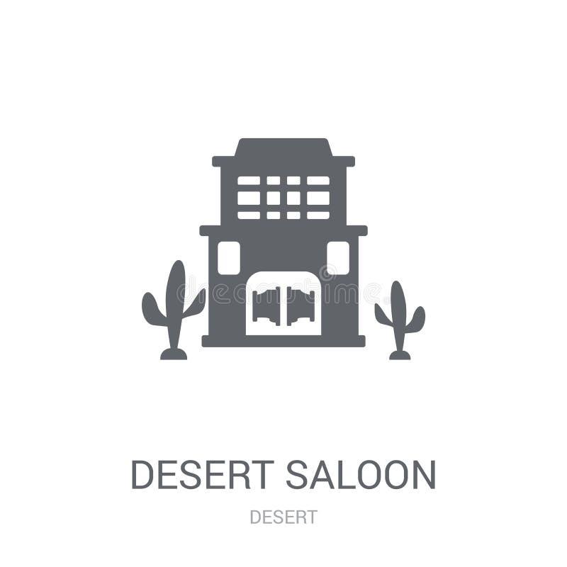 Pustynna bar ikona  ilustracji