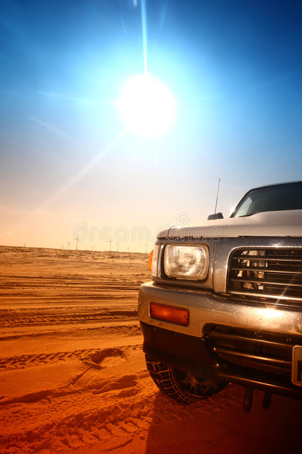 pustynna ciężarówka fotografia stock