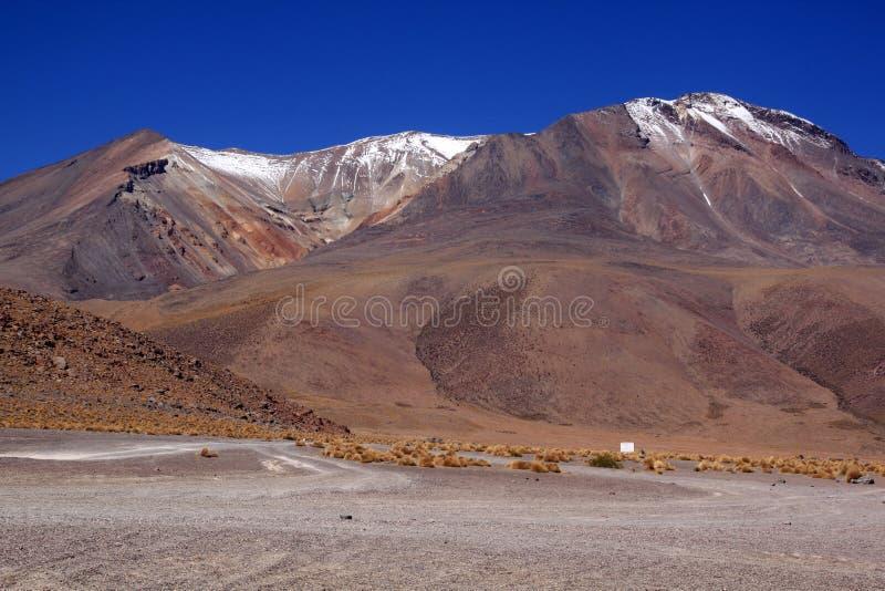 pustynna góra fotografia royalty free
