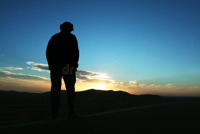 pustynna podwyżkę zdjęcia royalty free
