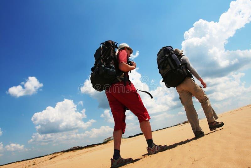 pustynna podwyżka zdjęcie stock