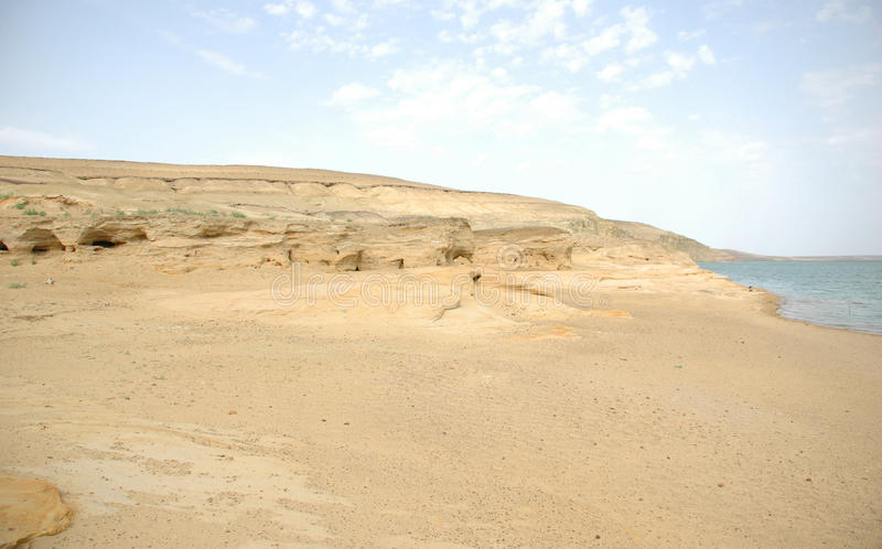 pustynna rzeka fotografia royalty free