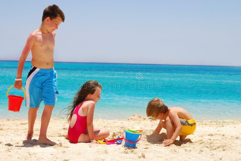 pustynna wyspy dziecko obrazy royalty free