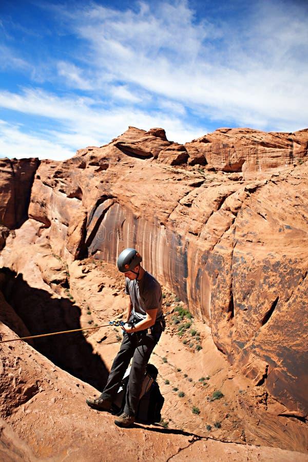 Pustynny Canyoneering fotografia royalty free