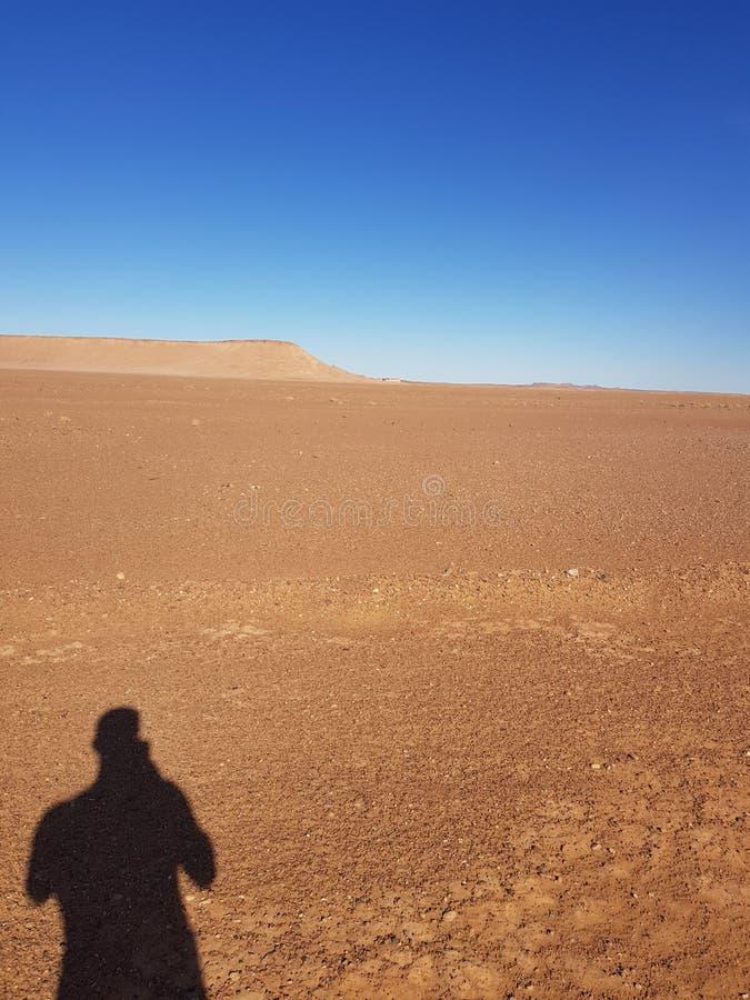 Pustynny cień zdjęcie stock
