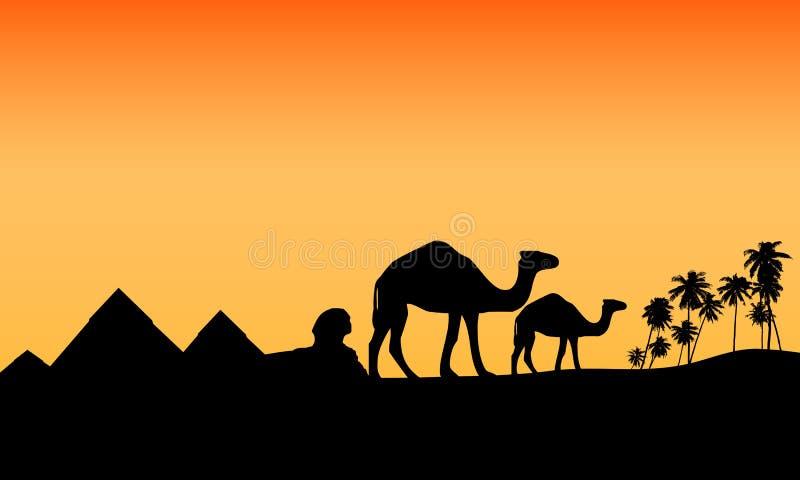 pustynny Egypt egzota scenariusz