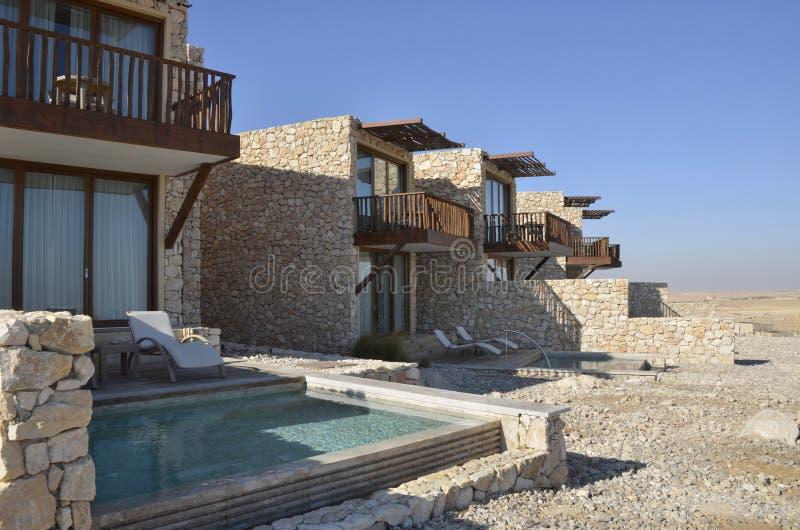 pustynny hotelowy Israel negev turysta obraz royalty free