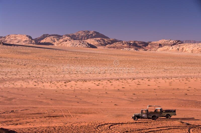 pustynny Jordan rumu wadi obrazy stock
