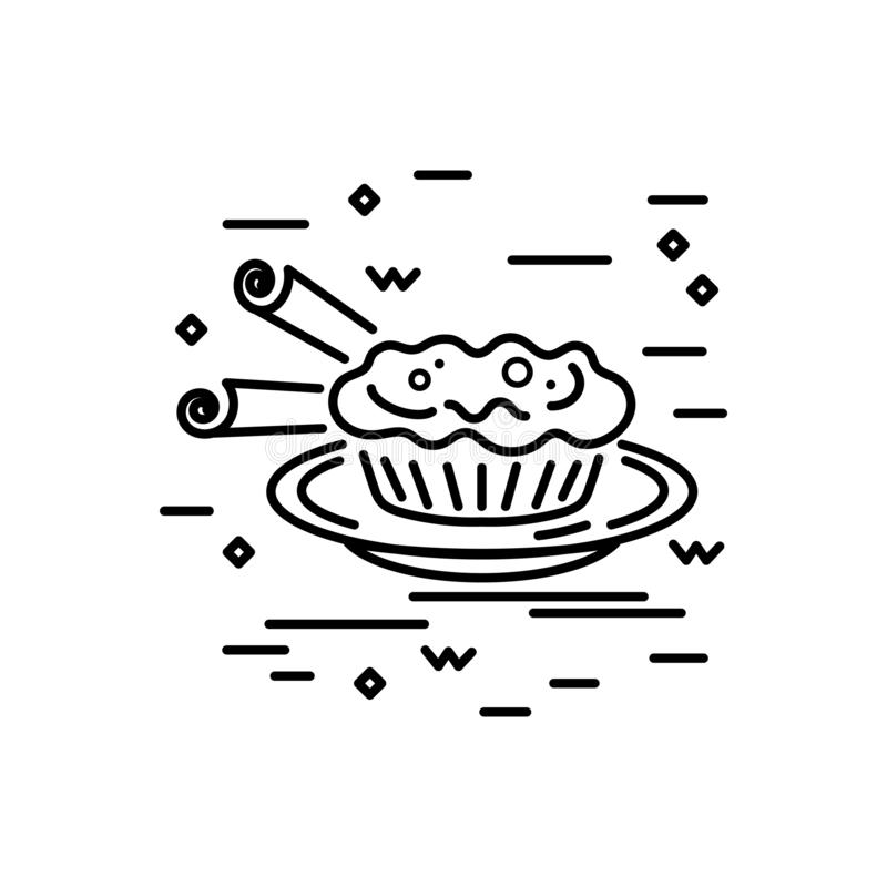 Pustynny logo projekt ilustracji