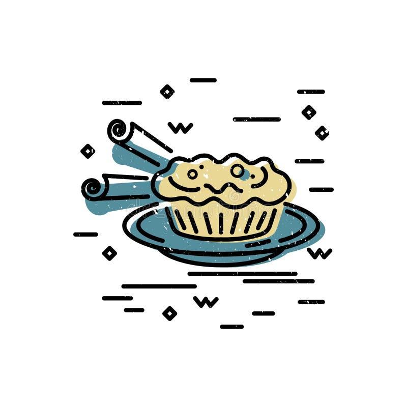 Pustynny logo projekt ilustracja wektor