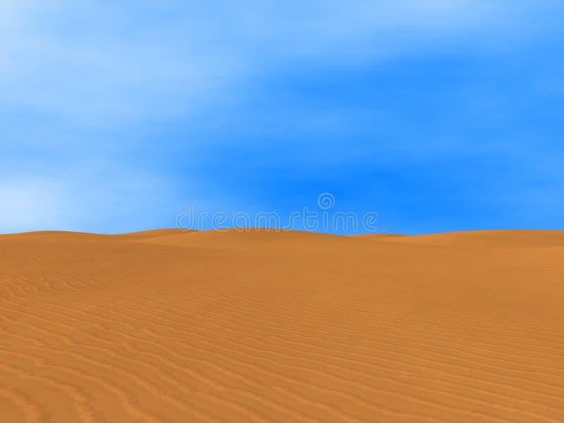 pustynny Sahara fotografia stock