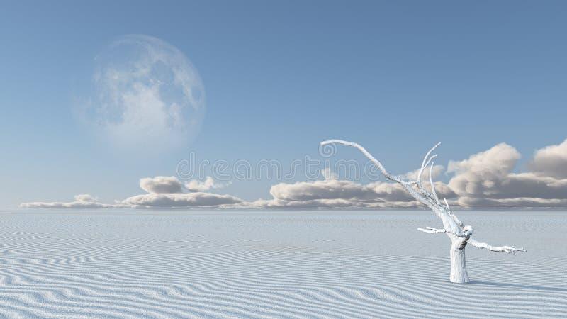pustynny surrealistyczny zdjęcie stock