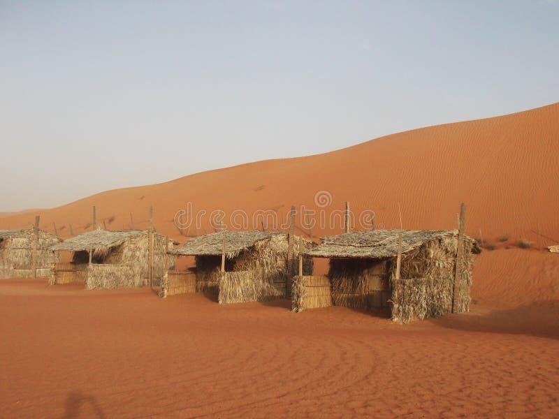 Pustynny widok, Oman zdjęcie royalty free