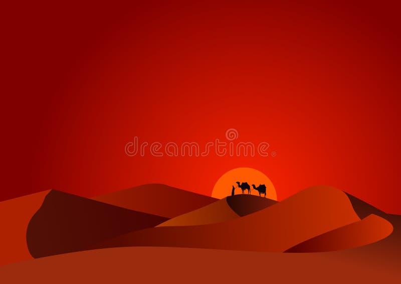 pustynny zmierzch