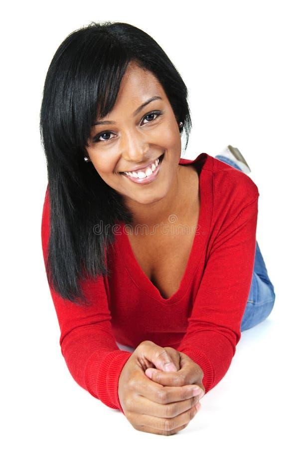 puszek target1094_0_ kobiet uśmiechniętych potomstwa fotografia stock