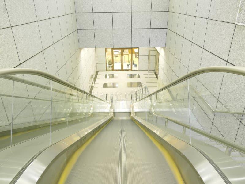 puszka eskalatoru chodzenie obraz royalty free